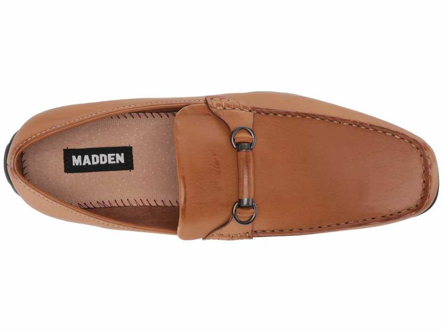 Madden By Steve Madden Men Cognac Tuske Loafers