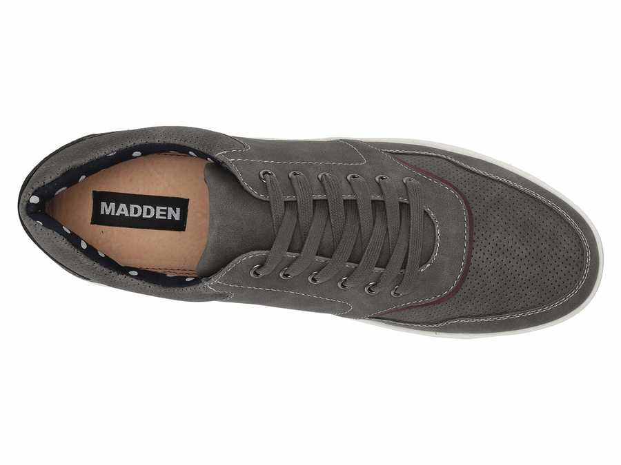 Madden By Steve Madden Men Grey Pale 6 Lifestyle Sneakers