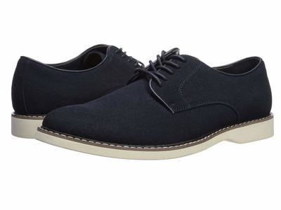 Madden By Steve Madden - Madden By Steve Madden Men Navy Nubuck David Oxfords