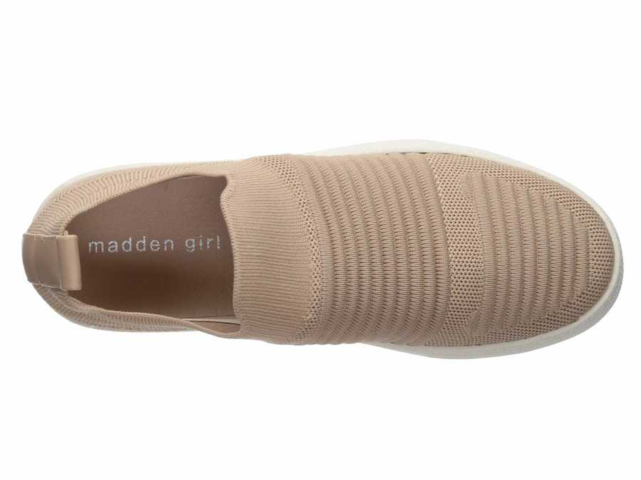 Madden Girl Women Blush Knit Brytney Lifestyle Sneakers
