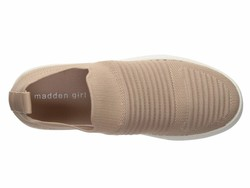 Madden Girl Women Blush Knit Brytney Lifestyle Sneakers - Thumbnail