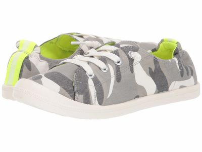 Madden Girl - Madden Girl Women Light Grey Camo Barby Lifestyle Sneakers