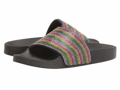 Madden Girl - Madden Girl Women Rainbow Multi Fancy Flat Sandals
