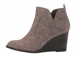 Madden Girl Women Taupe Paris Gallore Ankle Bootsbooties - Thumbnail