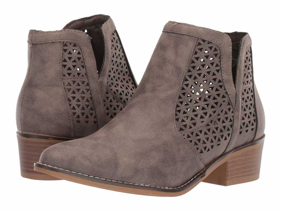 Madden Girl Women Taupe Paris Nataliia Ankle Bootsbooties