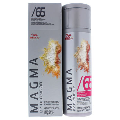 Wella - Magma by Blondor Pigmented Lightener - 65 Violet Red Violet 4,2oz