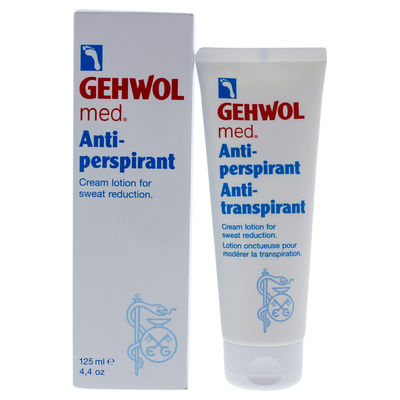 Gehwol - Med Anti-Perspirant Foot Cream Lotion 4,4oz