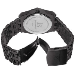 Men's Multifunction Bracelet Watch JS93BK - Thumbnail