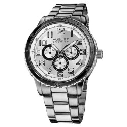 Men's Quartz Multifunction Elegant Bracelet Watch AS8060SL - Thumbnail