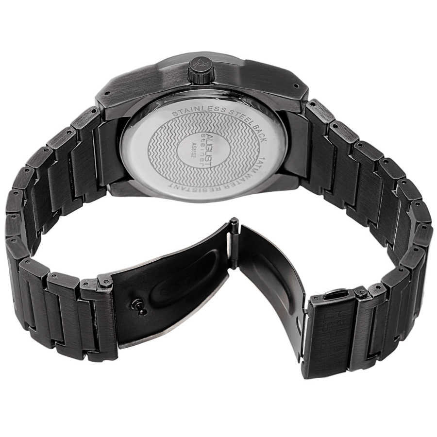Men's Swiss Quartz Luminous Bracelet Watch AS8152BK