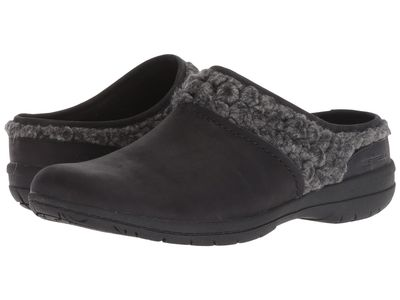 Merrell - Merrell Women Black Encore Kassie Slide Wool Clogs Mules