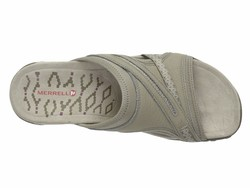 Merrell Women Taupe Terran Slide İi Active Sandals - Thumbnail