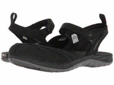 Merrell - Merrell Women's Black Siren Wrap Q2 Active Sandals
