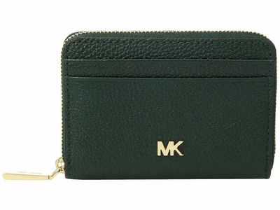Michael Kors - Michael Michael Kors Racing Green Zip Around Coin Card Case Coin Card Case