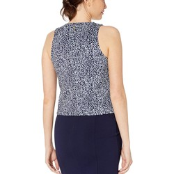 Mıchael Michael Kors Shore Blue Mini Ikat Tank - Thumbnail