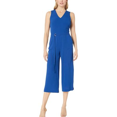 Mıchael Michael Kors - Mıchael Michael Kors Twilight Blue D-Ring Belt Jumpsuit