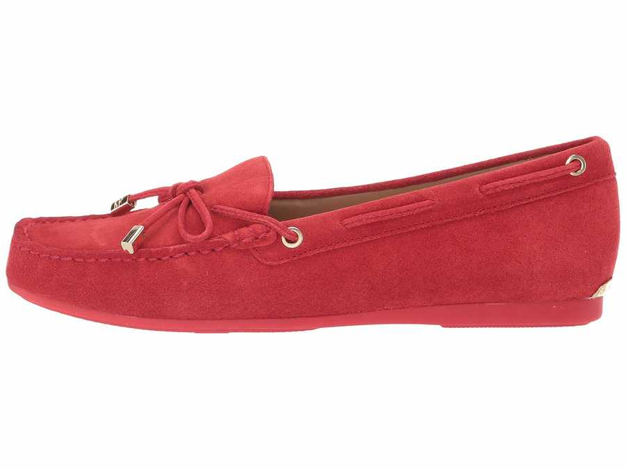 Michael Michael Kors Women Bright Red 1 Sutton Moc Loafers