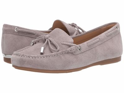 Michael Michael Kors - Michael Michael Kors Women Pearl Grey Sutton Moc Loafers