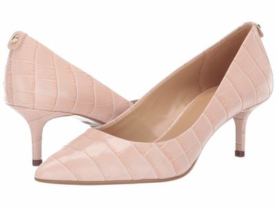 Michael Michael Kors Women Soft Pink Mk Flex Kitten Pump Pumps