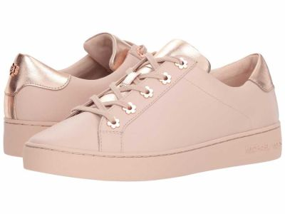 Michael Kors - MICHAEL Michael Kors Women's Soft Pink Irving Lace-Up Lifestyle Sneakers