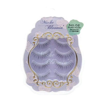 Miche Bloomin - Miche Bloomin False Eyelashes - 02 Pure Nude 4 Pair