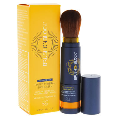 Brush On Block - Mineral Sunscreen Powder SPF 30 - Touch of Tan 0,12oz