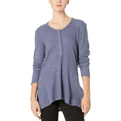 Mod-O-Doc Blueprint Space-Dyed Thermal V-Neck Easy Fit Henley - Thumbnail