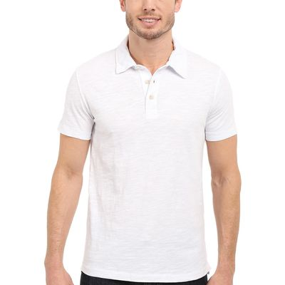 Mod-O-Doc - Mod-O-Doc White Zuma Short Sleeve Polo