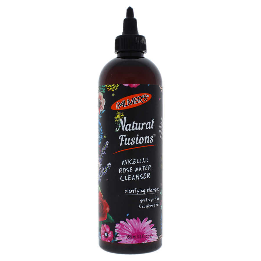 Natural Fusions Micellar Rose Water Cleanser Clarifying Shampoo 12oz