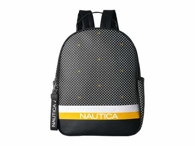Nautica - Nautica Black Cast Your Nets Backpack