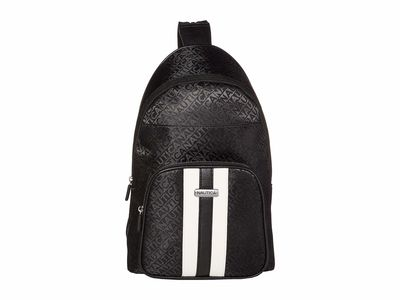 Nautica - Nautica Black Lakeside Sling Backpack