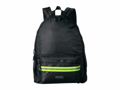 Nautica - Nautica Black/Green Dynamic Duo Backpack