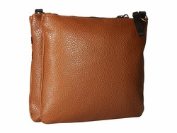 Nautica Cognac West End Cross Body Bag - Thumbnail