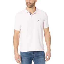 Nautica Cradle Pink Short Sleeve Solid Performance Deck Polo - Thumbnail