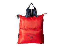 Nautica Electric Red New Tack Diagonal Quilt Backpack - Thumbnail