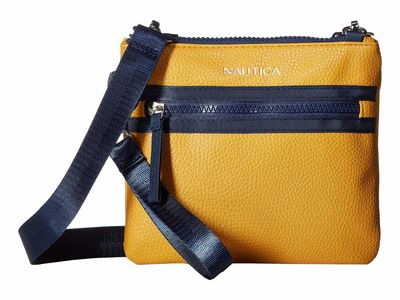 Nautica - Nautica Mustard West End Cross Body Bag