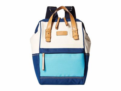 Nautica - Nautica Natural/Navy/Bali Bliss To Pool For School Backpack