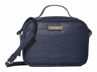 Nautica - Nautica Navy Key Largo Camera Bag Cross Body Bag