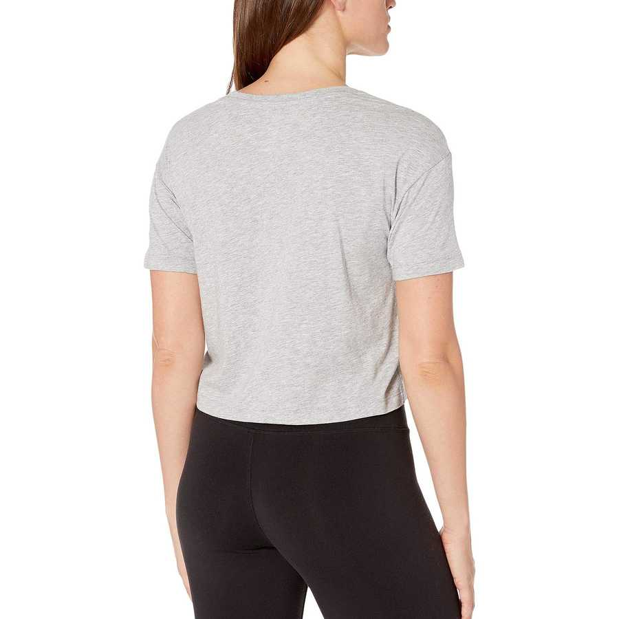 New Balance Athletic Grey Essential Crop Tee