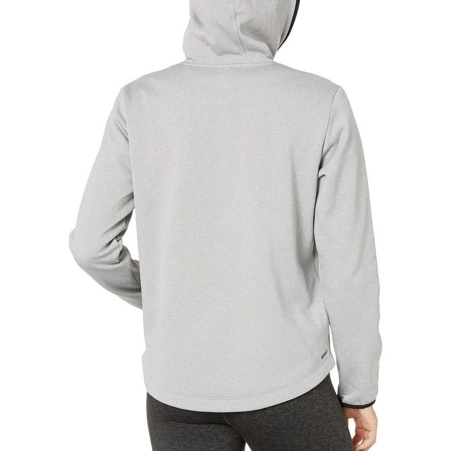 New Balance Athletic Grey Relentless Fleece Full Zip