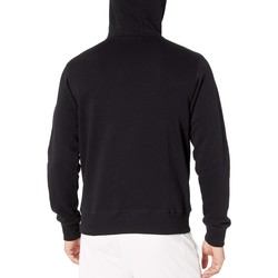 New Balance Black Essentials Stacked Logo Pullover Hoodie - Thumbnail