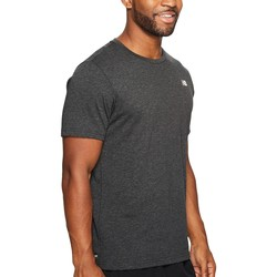 New Balance Black Heather Heather Tech Short Sleeve - Thumbnail