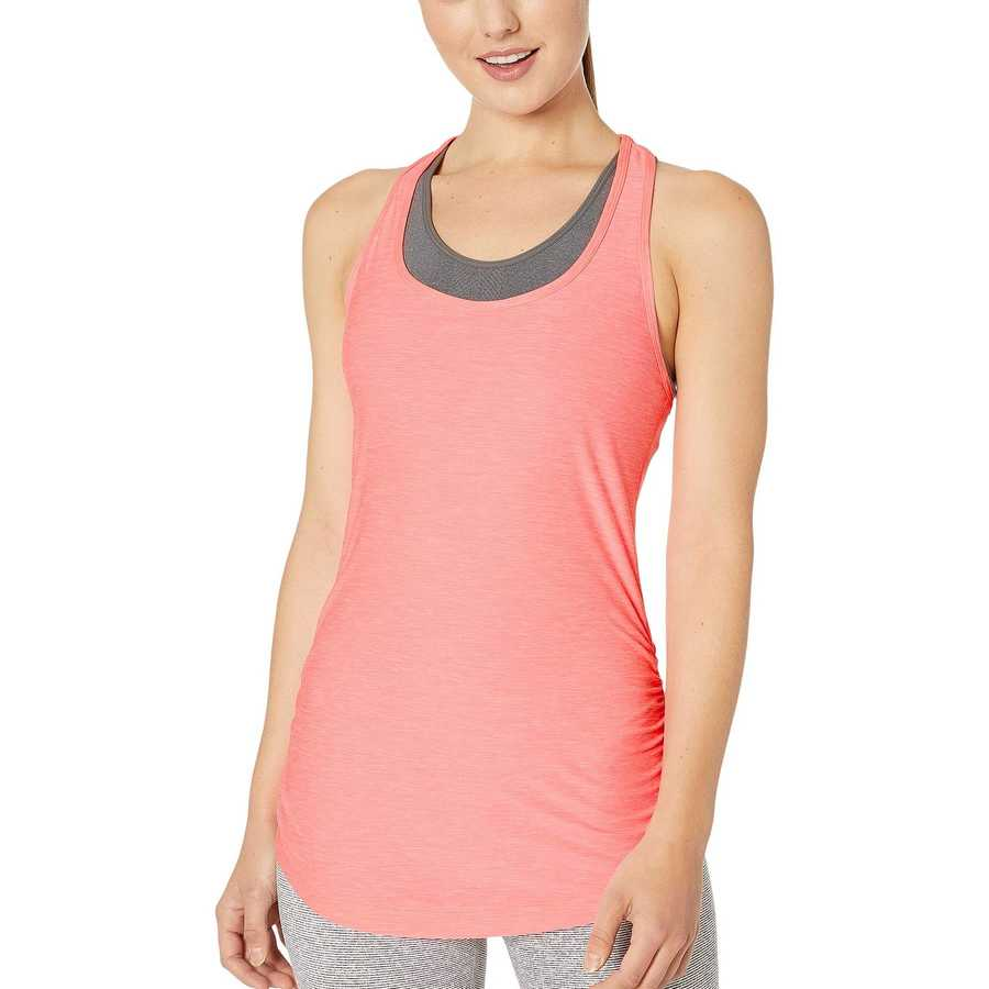 New Balance Bleached Guava Heather Perfect Tank
