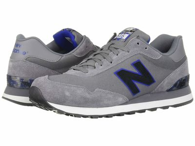 New Balance Classics - New Balance Classics Men Gunmetal/Team Royal 515V1 Lifestyle Sneakers