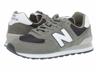 New Balance Classics - New Balance Classics Men Mineral Green/Outerspace 574V2-Usa Lifestyle Sneakers