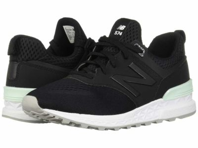 New Balance - New Balance Classics Men's Black MS574 Lifestyle Sneakers