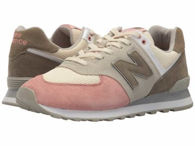 New Balance - New Balance Classics Men's Bone Dusted Peach ML574v2 Lifestyle Sneakers