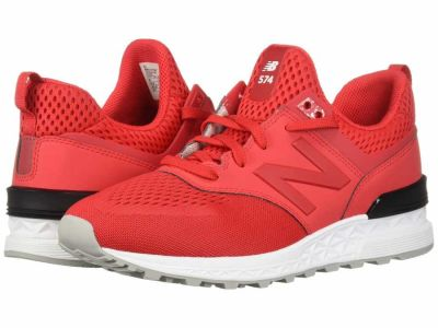 New Balance - New Balance Classics Men's Cerise MS574 Lifestyle Sneakers