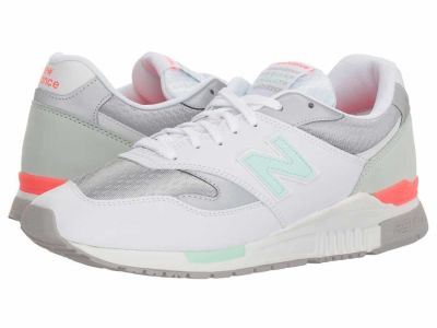 New Balance - New Balance Classics Men's White ML840 Lifestyle Sneakers