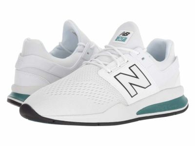 New Balance - New Balance Classics Men's White Munsell Outer Banks MS247v2 Lifestyle Sneakers